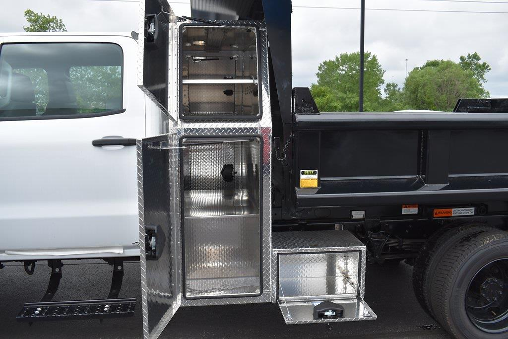 2020 Silverado 5500 Crew Cab DRW 4x2,  Galion Dump Body #T01042 - photo 21