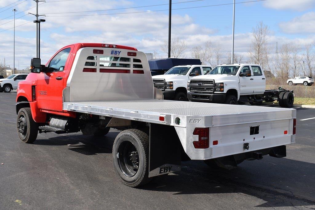 2021 Chevrolet Silverado 4500 Regular Cab DRW 4x4, EBY Platform Body #T10365 - photo 1