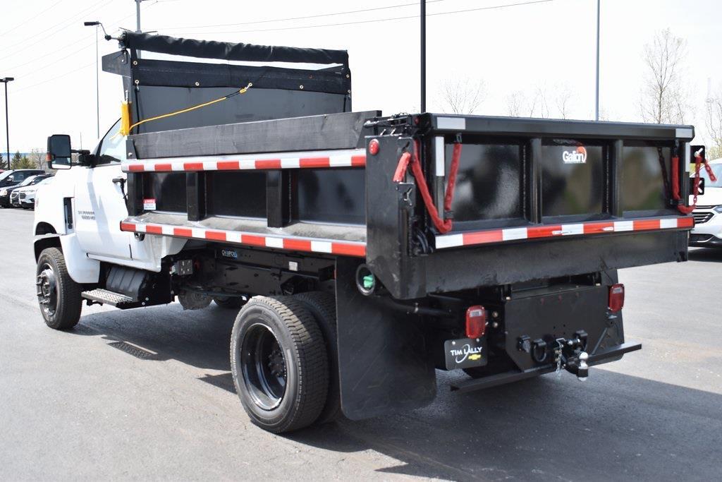 2021 Chevrolet Silverado 5500 Regular Cab DRW 4x4, 11 foot Galion Dump, Clutch Pump driven #T10367 - photo 1