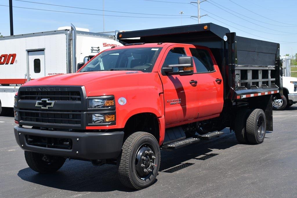 2021 Chevrolet Silverado 5500 Crew Cab DRW 4x4, 10 foot dump #T10583 - photo 1