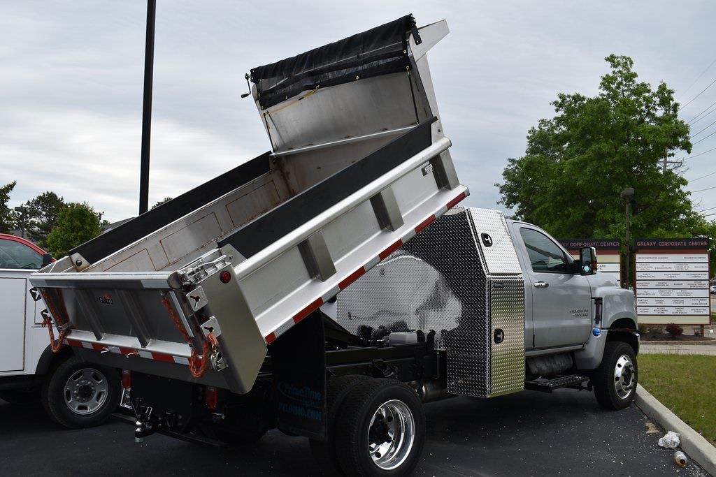 2021 Chevrolet Silverado 5500 Regular Cab DRW 4x4, Galion Dump Body #T10685 - photo 1