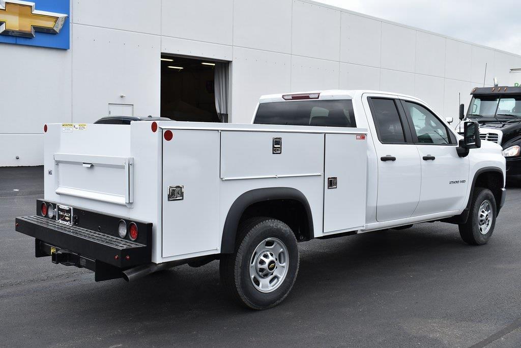 2021 Chevrolet Silverado 2500 Double Cab 4x4, Monroe Service Body #T10736 - photo 1