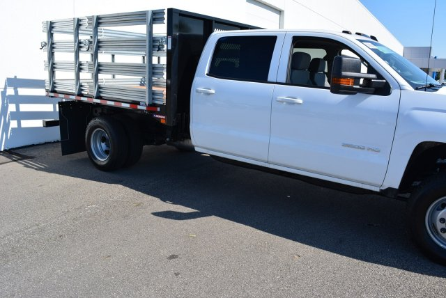 2016 Silverado 3500 Crew Cab DRW 4x4, Truck Equipment Sales LLC Stake Bed #T61385 - photo 3
