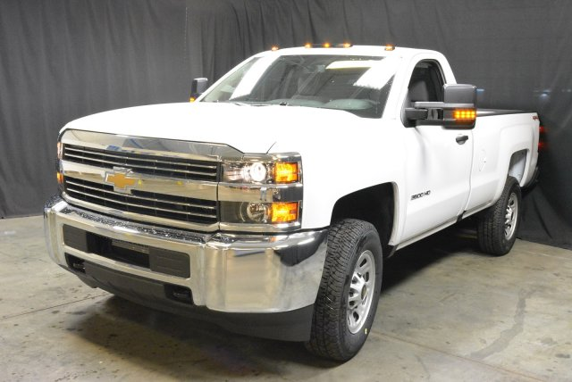 2016 Silverado 3500 Crew Cab DRW 4x4, Morgan Service Body #T61386 - photo 4