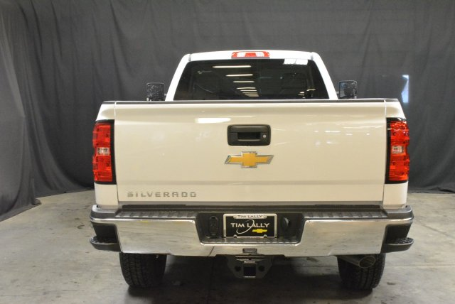 2016 Silverado 3500 Crew Cab DRW 4x4, Morgan Service Body #T61386 - photo 6