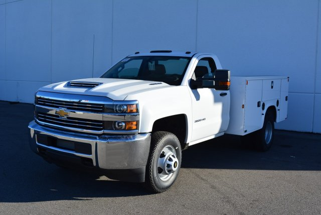 2017 Silverado 3500 Regular Cab DRW 4x4, Knapheide Service Body #T71333 - photo 3