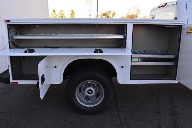 2017 Silverado 3500 Regular Cab DRW 4x4, Knapheide Service Body #T71333 - photo 2