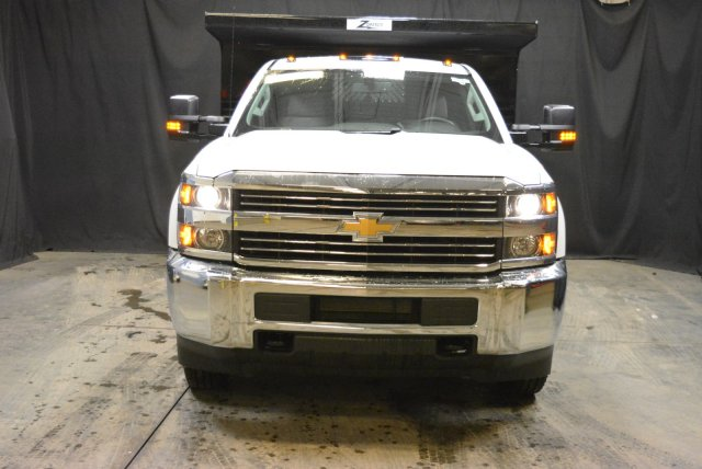 2017 Silverado 3500 Regular Cab DRW 4x4, Rugby Dump Body #T71368 - photo 4