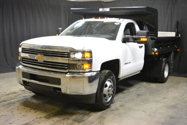 2017 Silverado 3500 Regular Cab DRW 4x4, Rugby Dump Body #T71368 - photo 5