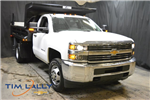 2017 Silverado 3500 Regular Cab DRW 4x4, Rugby Dump Body #T71368 - photo 1