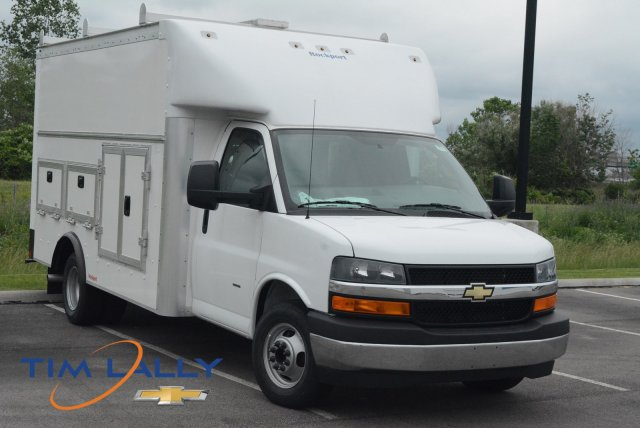 2018 Express 3500,  Rockport Workport Service Utility Van #T80675 - photo 1