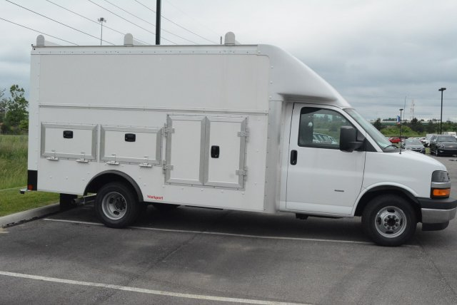 2018 Express 3500,  Rockport Workport Service Utility Van #T80675 - photo 3