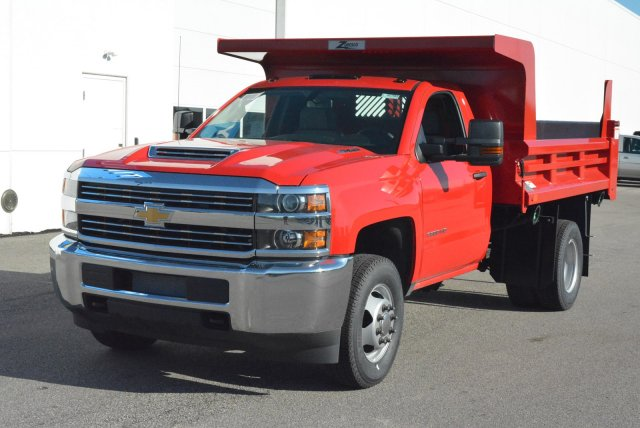 2018 Silverado 3500 Regular Cab DRW 4x4, Rugby Dump Body #T80790 - photo 5