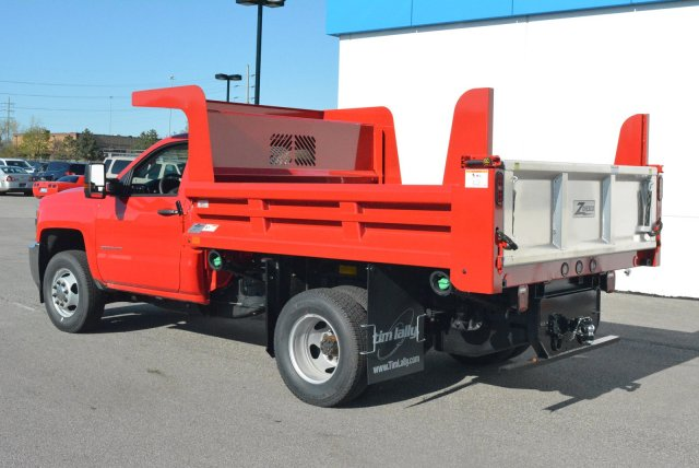 2018 Silverado 3500 Regular Cab DRW 4x4, Rugby Dump Body #T80790 - photo 7