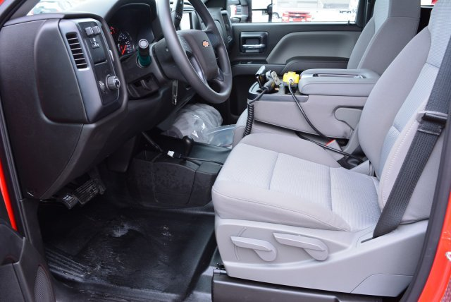 2019 Silverado 3500 Regular Cab DRW 4x4,  Rugby Dump Body #T90360 - photo 11