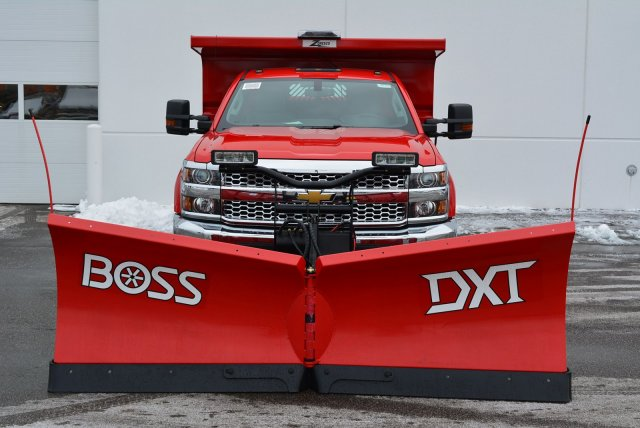 2019 Silverado 3500 Regular Cab DRW 4x4,  Rugby Dump Body #T90360 - photo 4