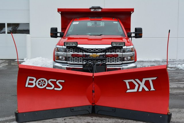 2019 Silverado 3500 Regular Cab DRW 4x4,  Rugby Dump Body #T90360 - photo 5