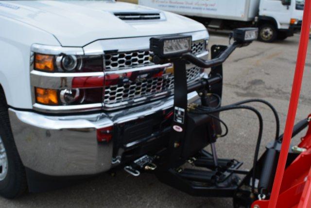2019 Silverado 3500 Crew Cab 4x4,  BOSS Snowplow Pickup #T90547 - photo 8