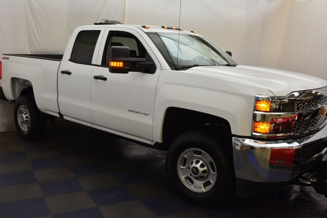 2019 Silverado 2500 Double Cab 4x4,  BOSS Pickup #T90564 - photo 4