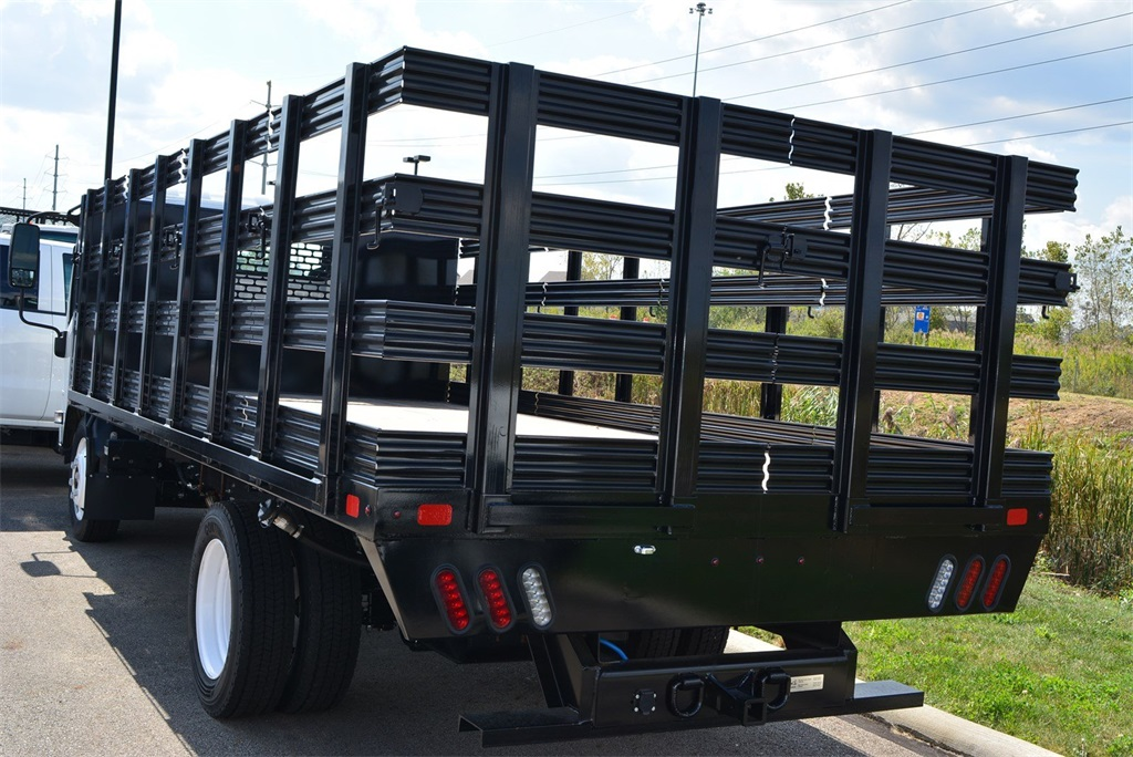 2019 LCF 4500 Regular Cab 4x2, SH Truck Bodies Stake Bed #T90755 - photo 5