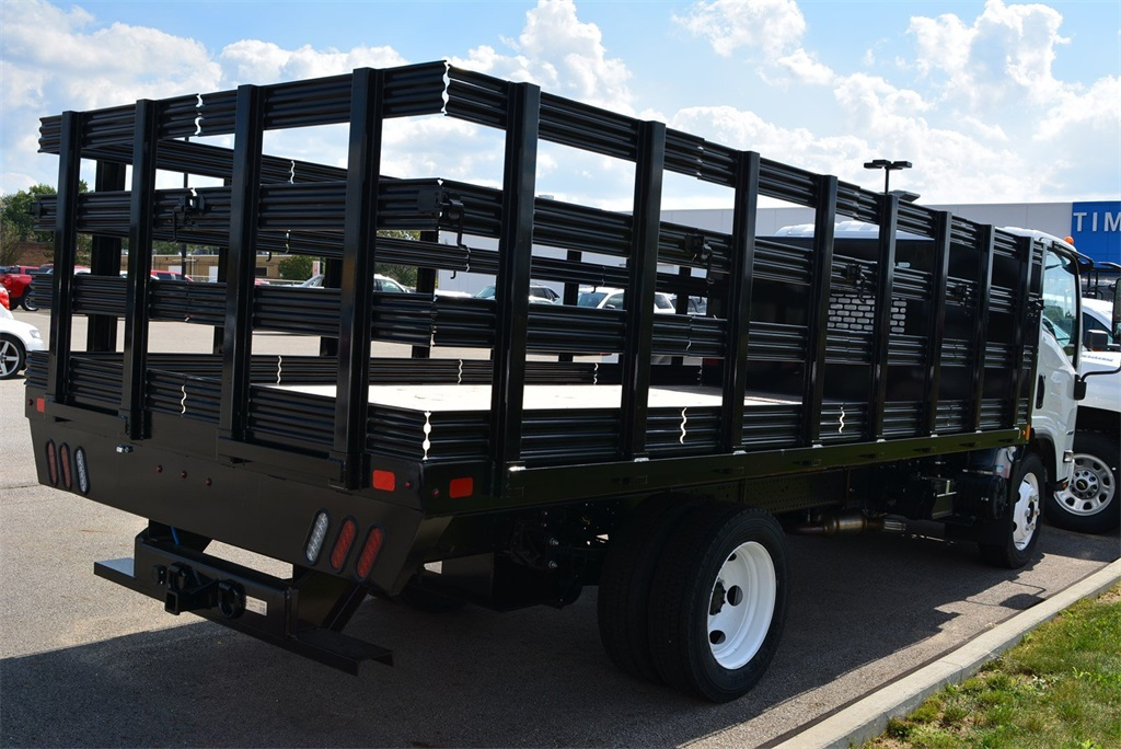 2019 LCF 4500 Regular Cab 4x2, SH Truck Bodies Stake Bed #T90755 - photo 2
