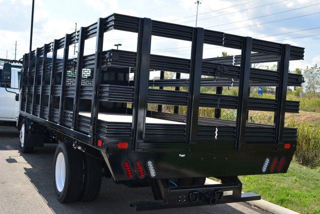 2019 LCF 4500 Regular Cab 4x2, SH Truck Bodies Stake Bed #T90755 - photo 5