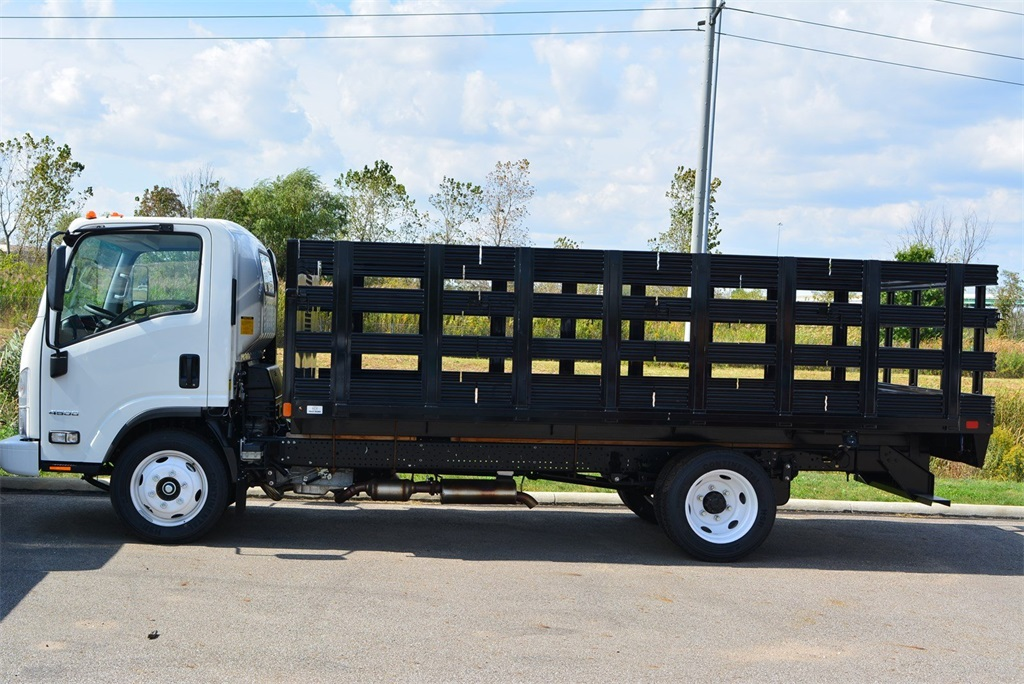 2019 LCF 4500 Regular Cab 4x2, SH Truck Bodies Stake Bed #T90755 - photo 3
