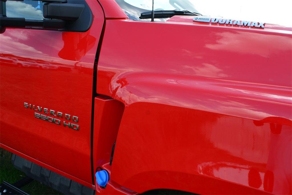 2019 Silverado 4500 Regular Cab DRW 4x2, Knapheide Value-Master X Stake Bed #T90790 - photo 4