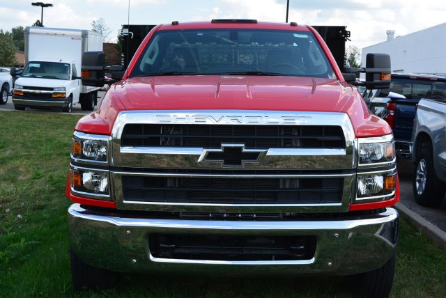 2019 Silverado Medium Duty Regular Cab DRW 4x2,  Knapheide Value-Master X Stake Bed #T90790 - photo 5