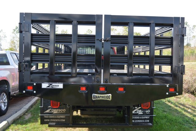 2019 Silverado Medium Duty Regular Cab DRW 4x2,  Knapheide Value-Master X Stake Bed #T90790 - photo 7