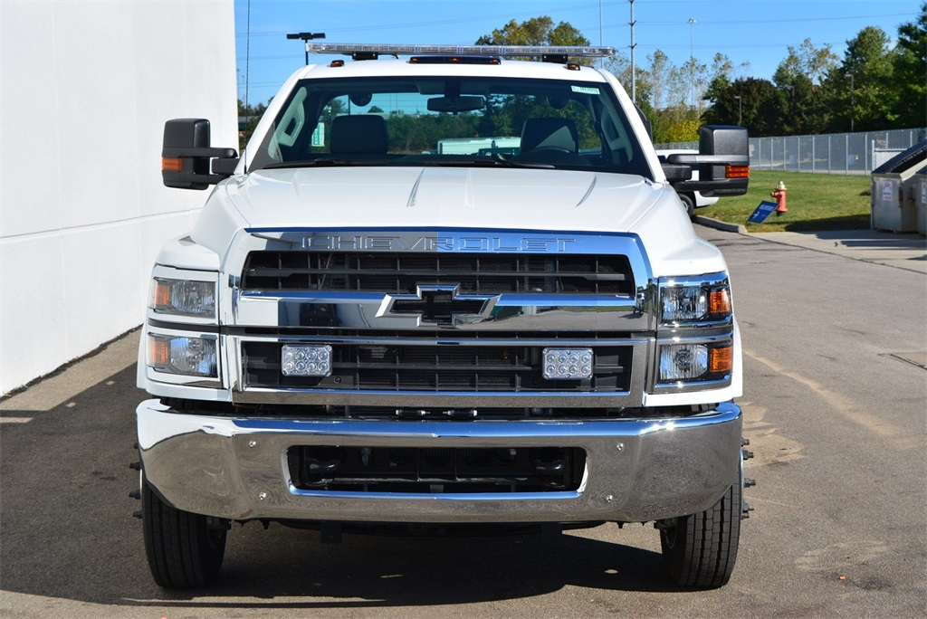 2019 Silverado 6500 Regular Cab DRW 4x2, Jerr-Dan Standard Duty Carriers Rollback Body #T91305 - photo 5