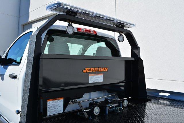 2019 Silverado 6500 Regular Cab DRW 4x2, Jerr-Dan Standard Duty Carriers Rollback Body #T91305 - photo 9