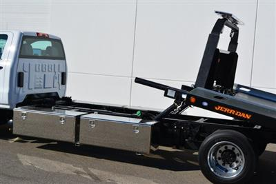 2019 Silverado Medium Duty Regular Cab DRW 4x2, Jerr-Dan Standard Duty Carriers Rollback Body #T91305 - photo 15