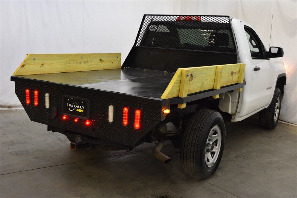 2014 GMC Sierra 1500 Regular Cab 4x4, Platform Body #T91429A - photo 1