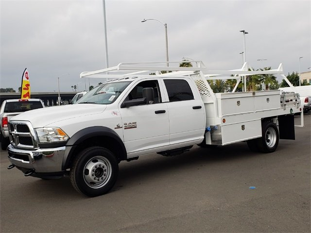 2018 Ram 4500 Crew Cab DRW 4x2,  Scelzi Contractor Body #JG352188 - photo 4