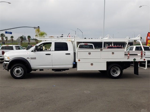 2018 Ram 4500 Crew Cab DRW 4x2,  Scelzi Contractor Body #JG352188 - photo 5