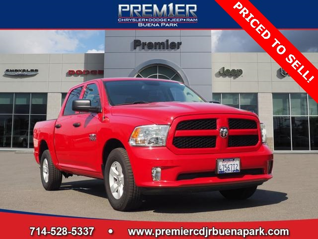 2018 Ram 1500 Crew Cab 4x2,  Pickup #JS350725 - photo 3