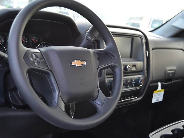 2017 Silverado 3500 Regular Cab DRW 4x4,  Knapheide Value-Master X Stake Bed #C170921 - photo 10