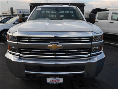 2017 Silverado 3500 Regular Cab DRW 4x4,  Knapheide Value-Master X Stake Bed #C170921 - photo 7