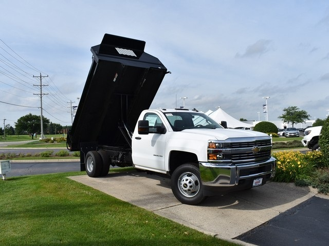 2018 Silverado 3500 Regular Cab DRW 4x2,  Knapheide Drop Side Dump Body #C181084 - photo 1