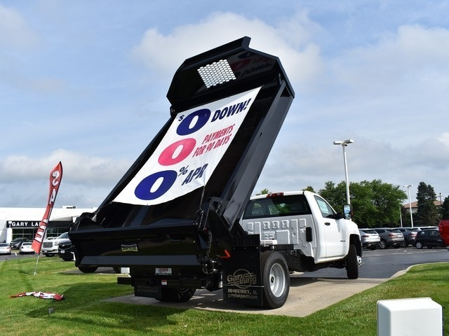 2018 Silverado 3500 Regular Cab DRW 4x2,  Knapheide Drop Side Dump Body #C181084 - photo 2