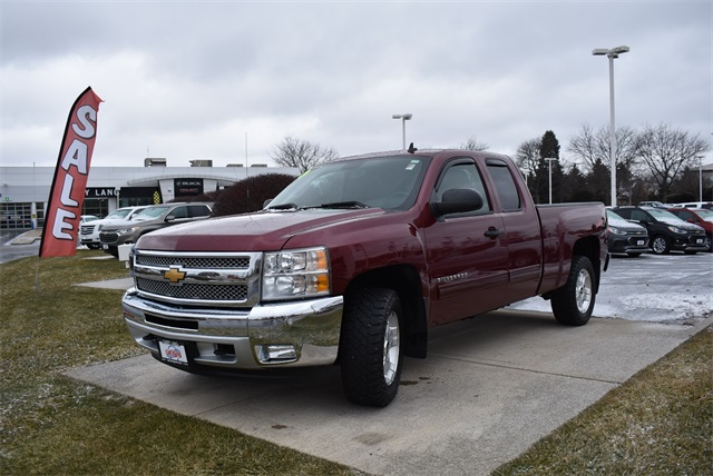 2013 Silverado 1500 Double Cab 4x4,  Pickup #C181425A - photo 4