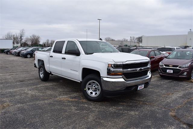 2018 Silverado 1500 Crew Cab 4x4,  Pickup #C181437 - photo 3