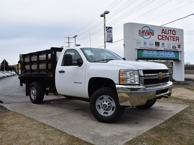 2014 Silverado 2500 Regular Cab 4x4,  Stake Bed #CP5959 - photo 3
