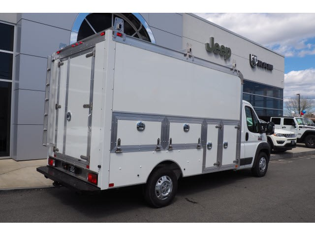 2018 ProMaster 3500 Standard Roof FWD,  Dejana Truck & Utility Equipment Service Utility Van #17334 - photo 2