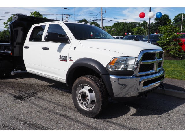 2017 Ram 4500 Crew Cab DRW 4x4,  Crysteel Dump Body #17466 - photo 13