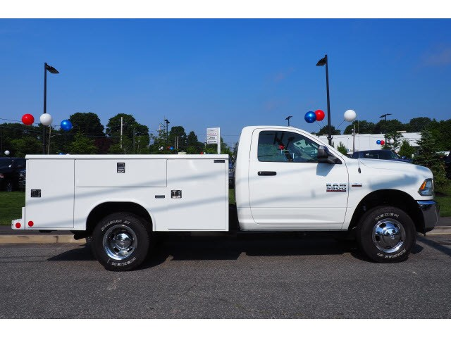 2018 Ram 3500 Regular Cab DRW 4x4,  Reading Service Body #17468 - photo 3