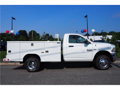2018 Ram 3500 Regular Cab DRW 4x4,  Reading Classic II Steel Service Body #17468 - photo 3