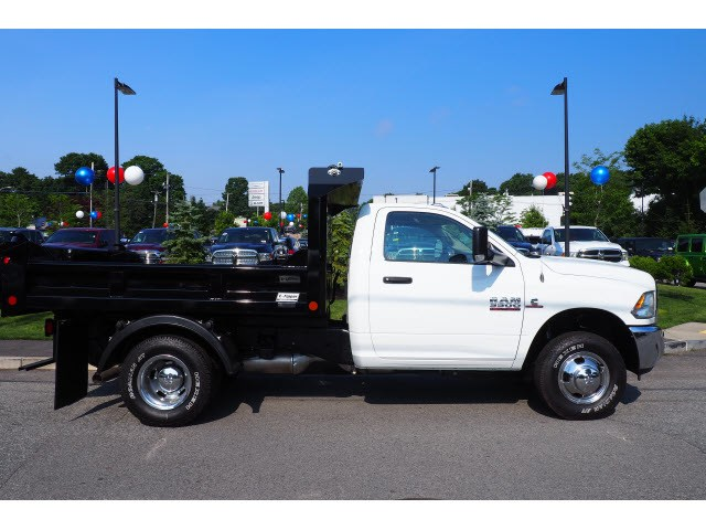2018 Ram 3500 Regular Cab DRW 4x4,  Crysteel Dump Body #17469 - photo 3
