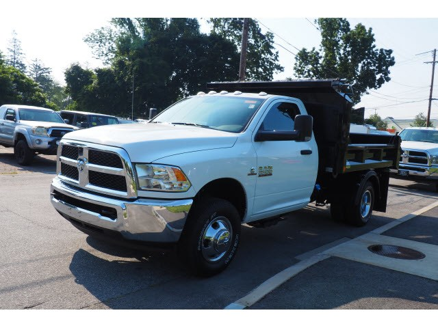 2018 Ram 3500 Regular Cab DRW 4x4,  Crysteel Dump Body #17469 - photo 6